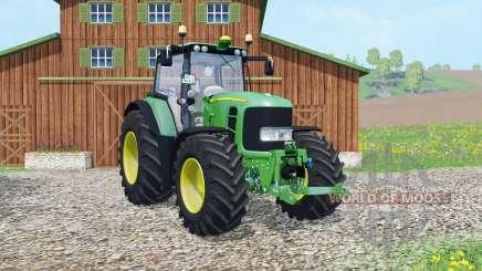 John Deere 7530 Premium 2007 para Farming Simulator 2015