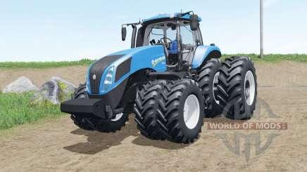 New Holland T8 brazilian version para Farming Simulator 2017