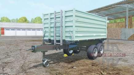 Brantner TA 10041 paris white para Farming Simulator 2015