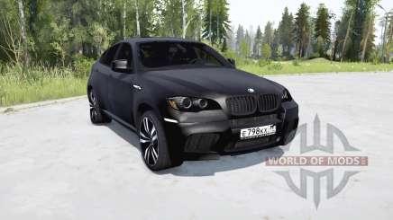 BMW X6 M (E71) para MudRunner
