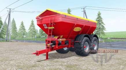 Bredal K165 increases spread para Farming Simulator 2017