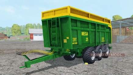 ZDT Mega 25 north texas green para Farming Simulator 2015