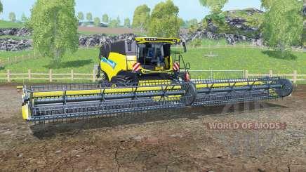 A New Holland CR10.90 titânio ỿellow para Farming Simulator 2015
