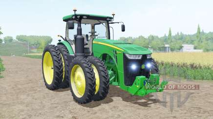 John Deere 8R moving elements para Farming Simulator 2017