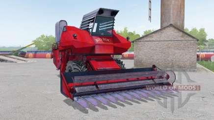 SK-6 Kolos cor vermelha para Farming Simulator 2017