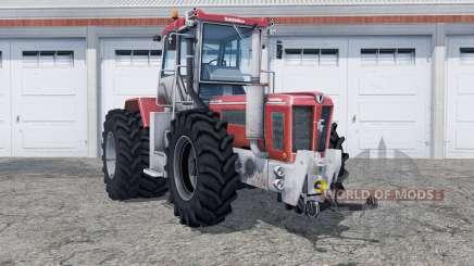 Schluter Super-Trac 2500 VL added rear wheels para Farming Simulator 2013