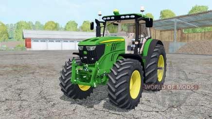A John Deere 6210R animado elemenƫ para Farming Simulator 2015