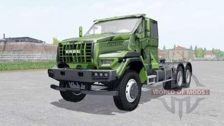 Ural Próxima T25.420 2018 camuflagem cor para Farming Simulator 2017