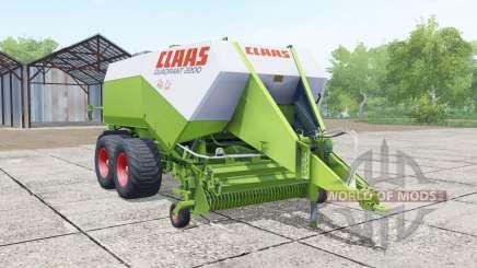 Claas Quadrant 2200 Roto Cut para Farming Simulator 2017