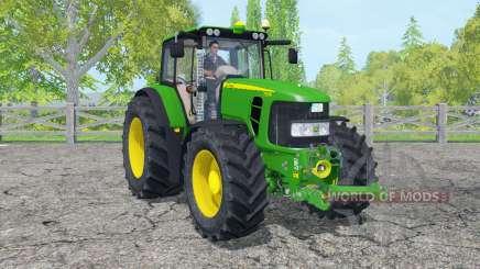 John Deere 7530 Premium islamic green para Farming Simulator 2015