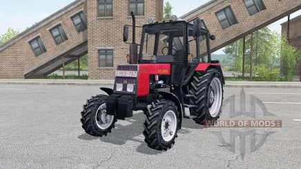 MTZ-820 Bielorrússia console, carregador frontal para Farming Simulator 2017