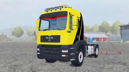 MAN TGM 4x4 tractor para Farming Simulator 2013