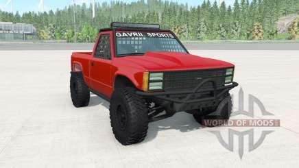Gavril D-Series off-road v1.7 para BeamNG Drive