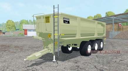 Krampe Big Body 900 S multifruit para Farming Simulator 2015