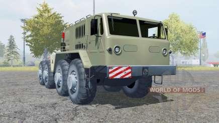 MAZ-537 8x8 para Farming Simulator 2013