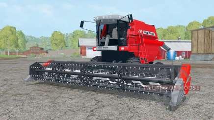 Massey Ferguson 34 with headers para Farming Simulator 2015