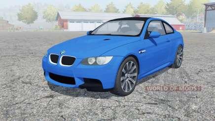 BMW M3 coupe (E92) 2010 para Farming Simulator 2013