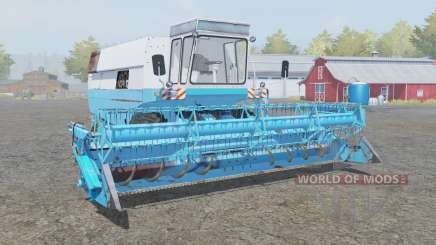 Fortschritt E 516 with headers para Farming Simulator 2013
