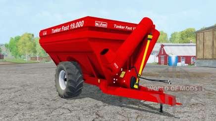 Jan-Tanque Fasƫ 19.000 para Farming Simulator 2015
