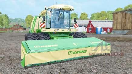 Krone BiG X 1100 frente dupla wheelʂ para Farming Simulator 2015