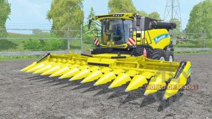 A New Holland CR10.90 dupla frente wheelʂ para Farming Simulator 2015