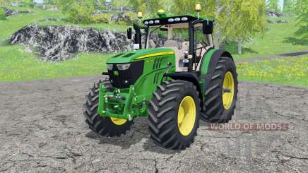 John Deere 6210R FL console para Farming Simulator 2015