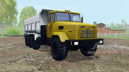KrAZ-7140С6 móvel elementos para Farming Simulator 2015