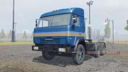 KamAZ-54115 cor azul escuro para Farming Simulator 2013