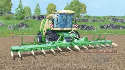Krone BiG X 1100 new display para Farming Simulator 2015