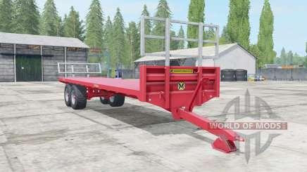 Marshall BC-32 sizzling red para Farming Simulator 2017