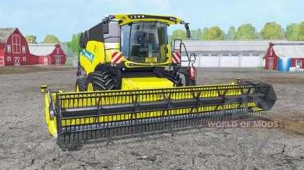 New Holland CR9.90 white & yellow rims para Farming Simulator 2015