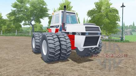J.I. Case 2870 Traction King para Farming Simulator 2017