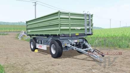 Fliegl DK 140-88 bay leaf para Farming Simulator 2017