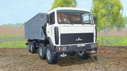 MZKT-65151 para Farming Simulator 2015