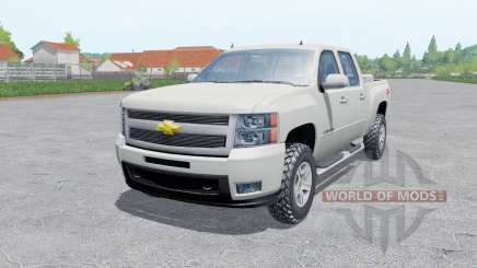 Chevrolet Silverado Crew Cab (GMT911) para Farming Simulator 2017