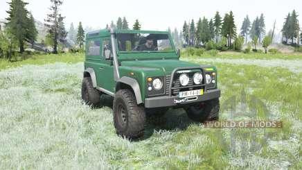 Land Rover Defender 90 Station Wagon 2000 para MudRunner