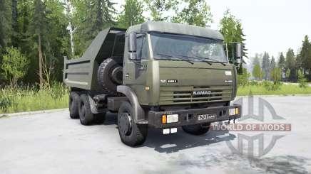 KamAZ-55111 2002 para MudRunner