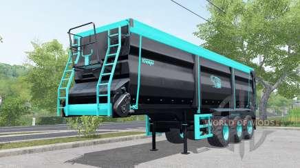 Krampe Sattel-Bandit 30-60 blue and black para Farming Simulator 2017