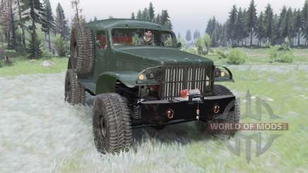 Dodge WC-53 Carryall (T214) 1942 para Spin Tires