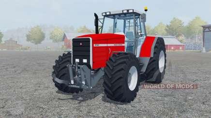 Massey Ferguson 8140 added wheels para Farming Simulator 2013