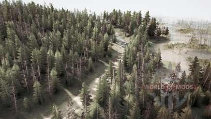Snake road 7 para MudRunner