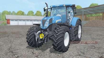 New Holland T7.210 animated element para Farming Simulator 2015