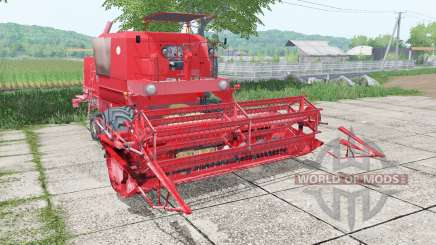 Bizon Super Z056 with header para Farming Simulator 2017