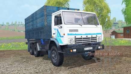KamAZ-53212 cor branca para Farming Simulator 2015
