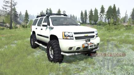 Chevrolet Tahoe (GMƬ900) 2007 para MudRunner