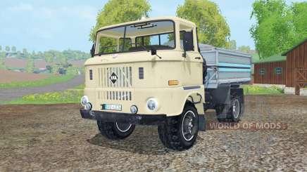 IFA W50 L kipper para Farming Simulator 2015