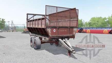 PIM-40-acinzentado cor vermelha para Farming Simulator 2017