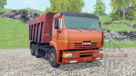 KamAZ-6520 2002 para Farming Simulator 2015