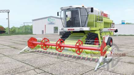 Claas Dominator 208 Mega and C 600 para Farming Simulator 2017