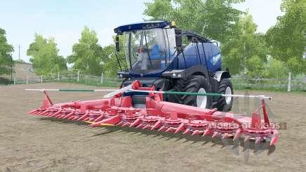 A New Holland FR850 Azul Poweᶉ para Farming Simulator 2017